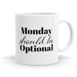 Monday Optional Mug