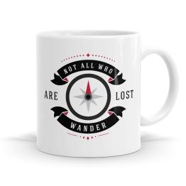 Not All Who Wander Mug