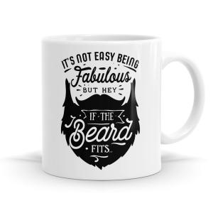 If The Beard Fits Mug