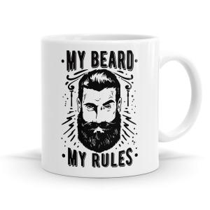 My Beard My Rules Mug