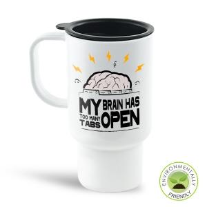 Brain Tab Travel Mug