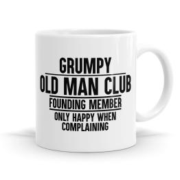Grumpy Old Man Club Mug