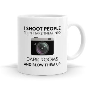 Dark Rooms Photographer Mug