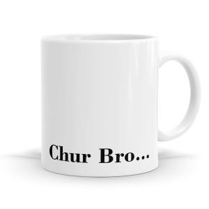 Chur Bro Kiwiana Mug