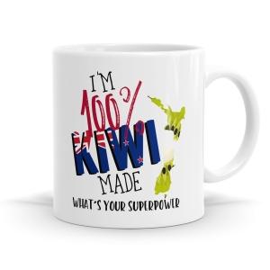 Kiwi Superpower Mug