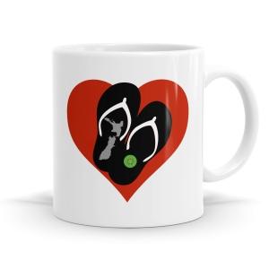 NZ Love Kiwiana Mug