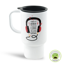 Wrong Lyrics Travel Mug