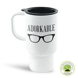 Adorkable Travel Mug