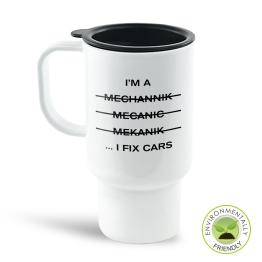 I'm A Mechanic Travel Mug