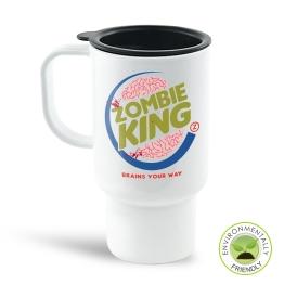 Zombie King Travel Mug