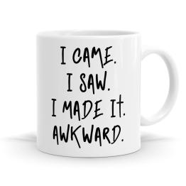 I Came I Saw Mug