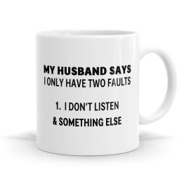 My Husband Mug