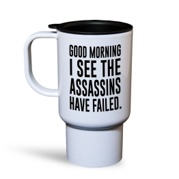 Assassins Failed Travel Mug