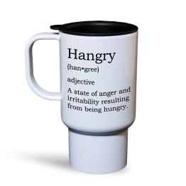 Hangry Travel Mug