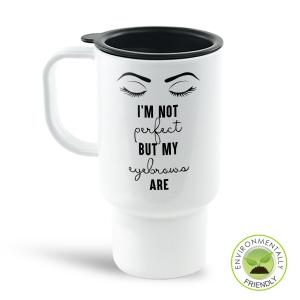 Not Perfect Travel Mug