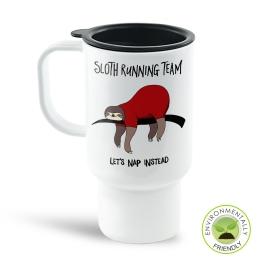 Sloth Running Team Travel Mug