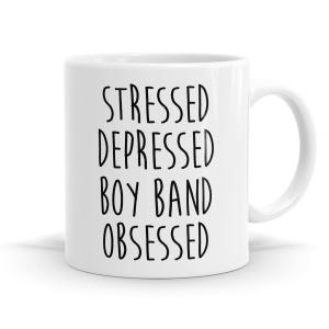 Boy Band Obsessed Mug