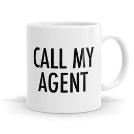 Call My Agent Mug