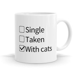 With Cats Mug