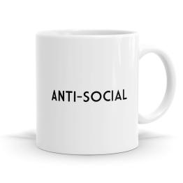 Anti-Social Mug