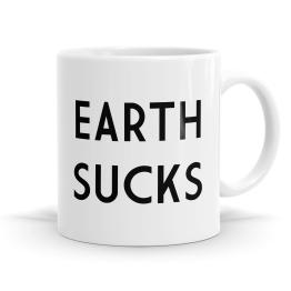 Earth Sucks Mug
