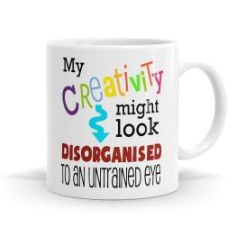 Disorganised Creativity Mug