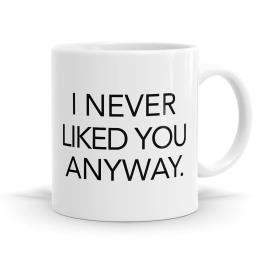 Never Liked You Anyway Mug