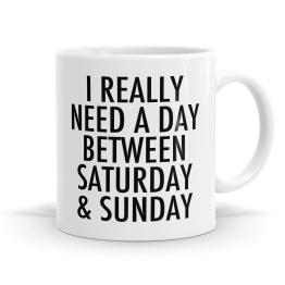 Saturday Sunday Mug