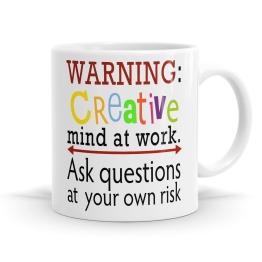 Creative Mind At Work Mug