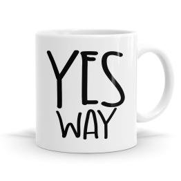 Yes Way Mug