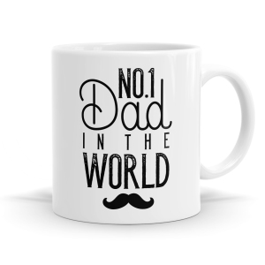 Number 1 Dad in The World Mug