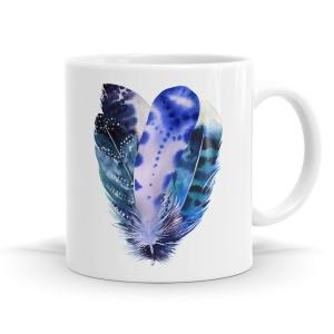 Calm Feather Mug
